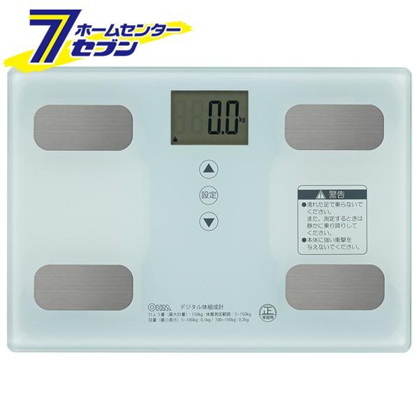体重体組成計 ホワイト [品番]08-0491 HB-KG11R1-...