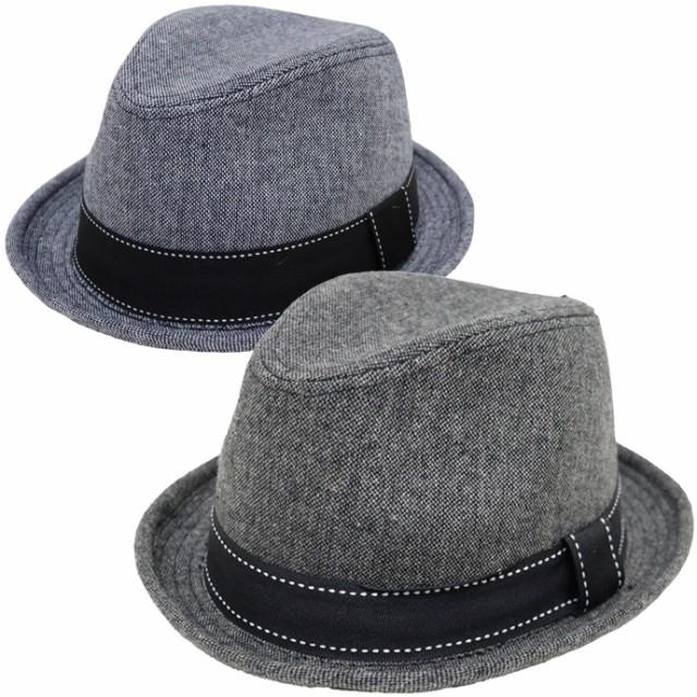帽子 メンズ 大きめ 61cm対応 シャンブレーマニッ...