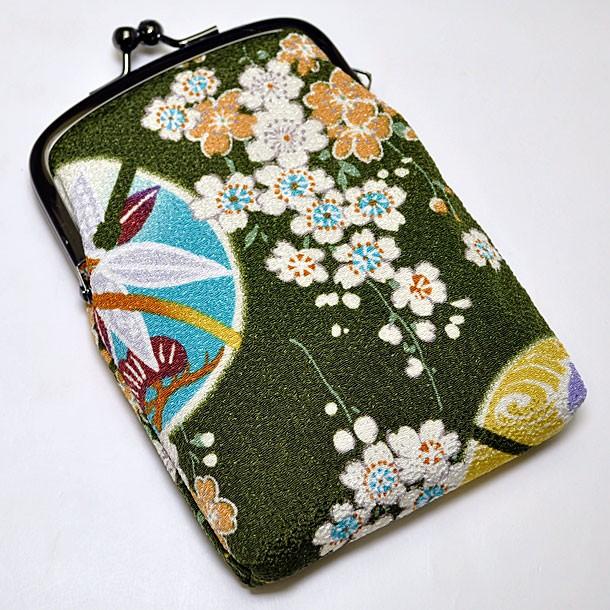 メール便 和柄タバコケース(丸) 日本製 メンズレ...