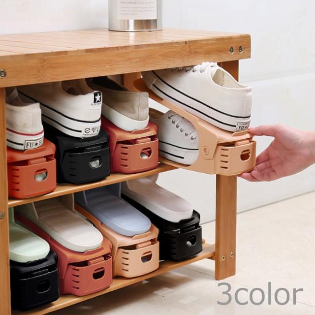 靴 収納 ホルダー 靴箱 整理 スリム 省スペース...
