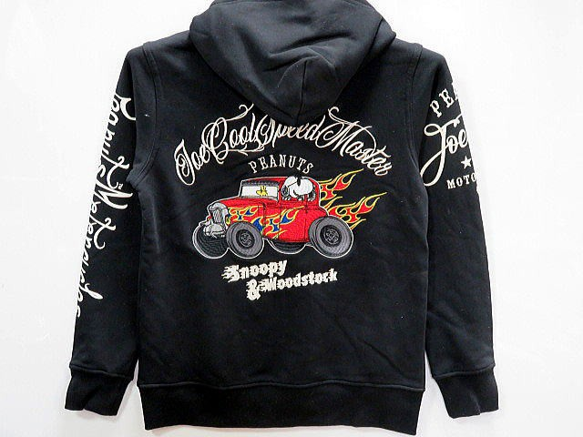 SNOOPY COLLABORATION Flag Staff  HOT ROD  ZIP...