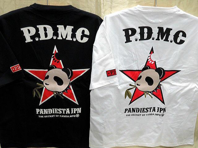 大きいサイズ PANDIESTA JAPAN 半袖Tシャツ パ...