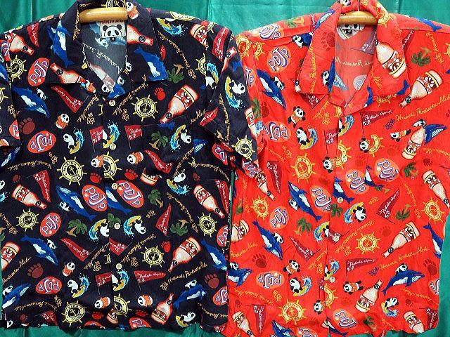PANDIESTA JAPAN サーフ&ボトル アロハシャツ ...