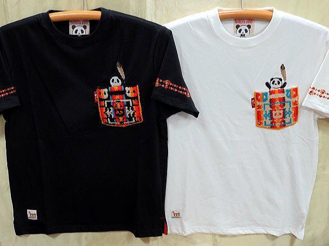 PANDIESTA JAPAN 半袖Tシャツ サガラポケット ...