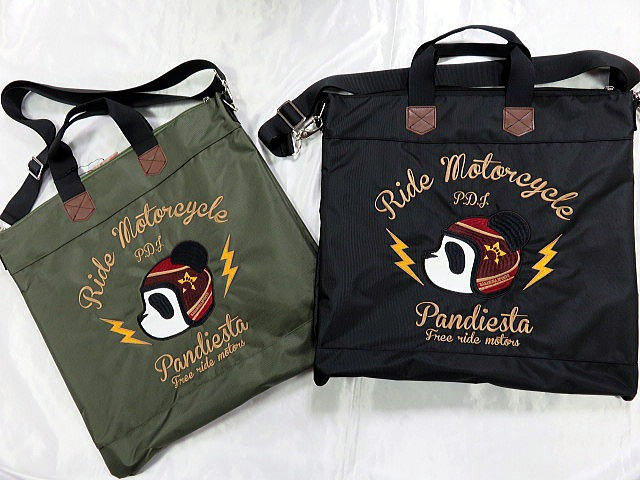 PANDIESTA JAPAN メットパンダ ヘルメットバッ...