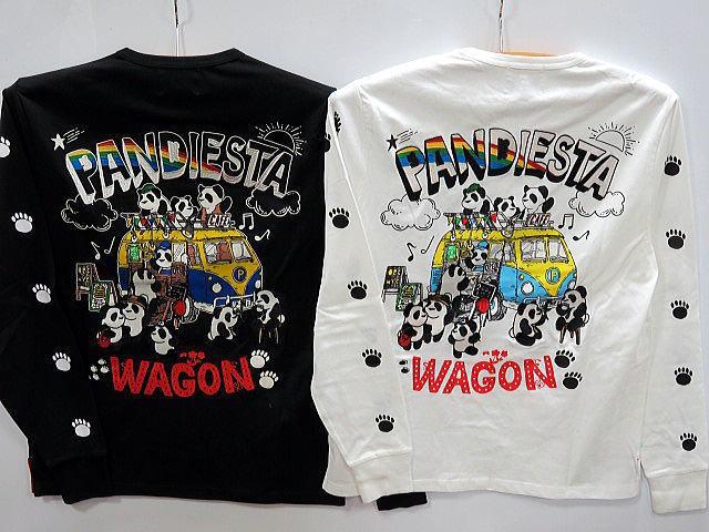 PANDIESTA JAPAN 長袖Tシャツ ワゴンカフェ パ...