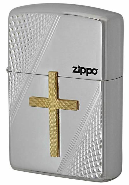 Zippo ジッポー ARMOR アーマー CROSS METAL クロ...