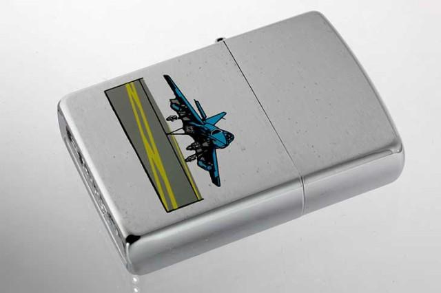 Zippo ジッポー 絶版・1996年製造 戦闘機ランディ...