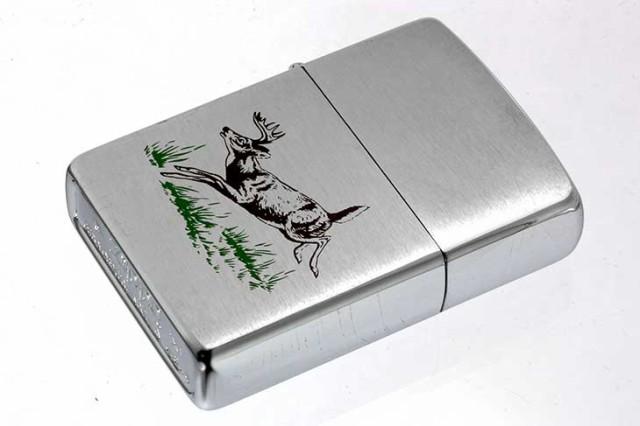 Zippo ジッポー 絶版・1995年製造 動物 牡鹿 DEER...