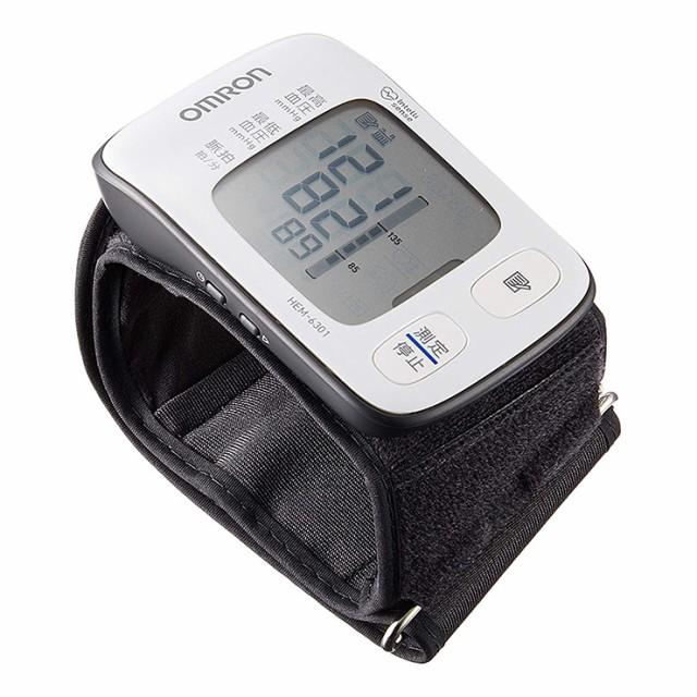 OMRON オムロン デジタル自動血圧計 HEM-6301 手...
