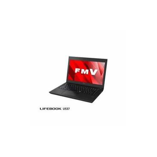 富士通 モバイルパソコン FmV LIFEBOOK UH537/B アルマイトブラック FmVU5373BY(代引不可)【送料無料】