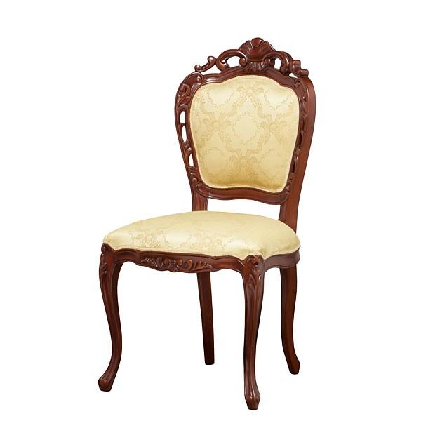 フランシスカチェアー 椅子 チェア 肘無し ホワイ...