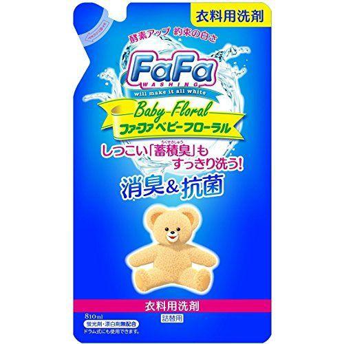 ファーファ 液体洗剤 ベビーフローラル 詰替用 81...
