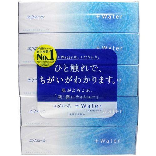 エリエール +Water プラスウォーター 180組(360枚...