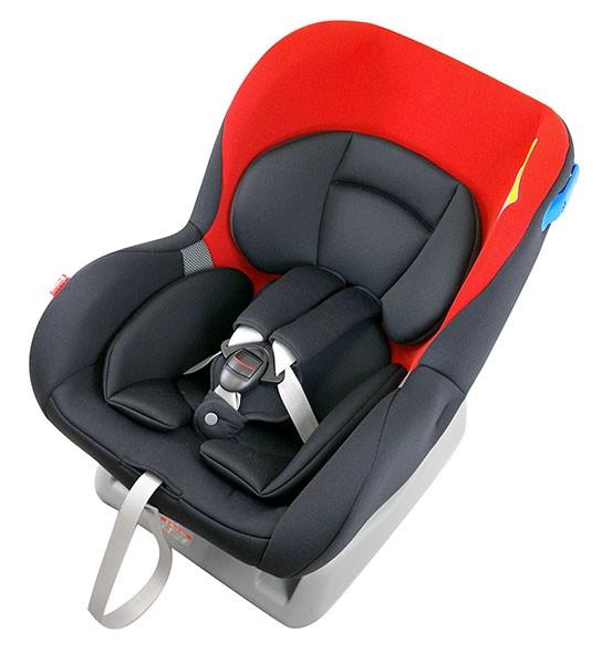 リーマン チャイルドシート CF526 ネディLife スタイルレッド シートベルト取付方式【送料無料】