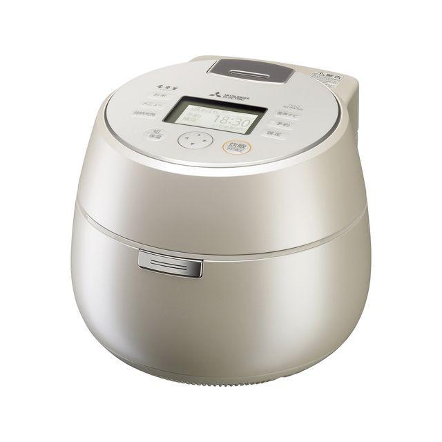 三菱電機 IH炊飯器 本炭釜 5.5合 NJ-AW109-W 白和三盆 IH 炊飯ジャー【送料無料】