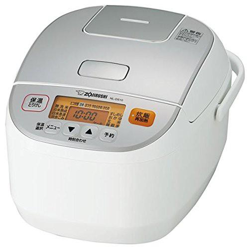 象印 マイコン炊飯器 極め炊き 5.5合 NL-DS10-WA ホワイト 炊飯ジャー【送料無料】