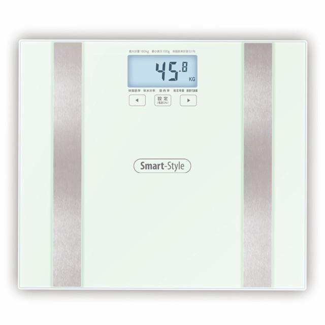 体組成 ヘルスメーター 体重計 体脂肪率 ガラスト...