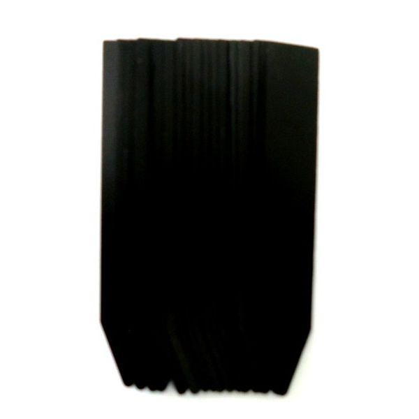 自然 園芸立型ラベル 黒 9cm 20枚入 727695