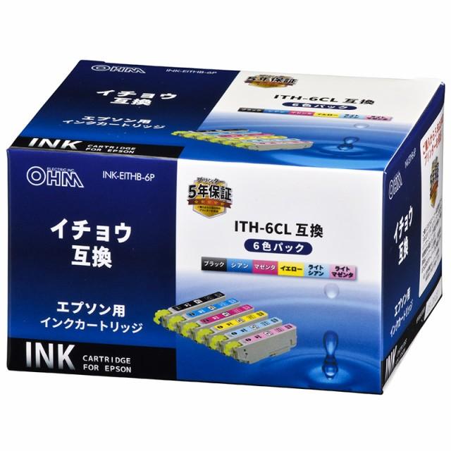 エプソン イチョウ ITH-6CL対応 互換インクカート...