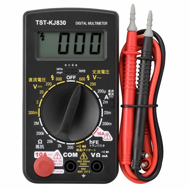 デジタルテスター 普及型_TST-KJ830 08-1288 オー...
