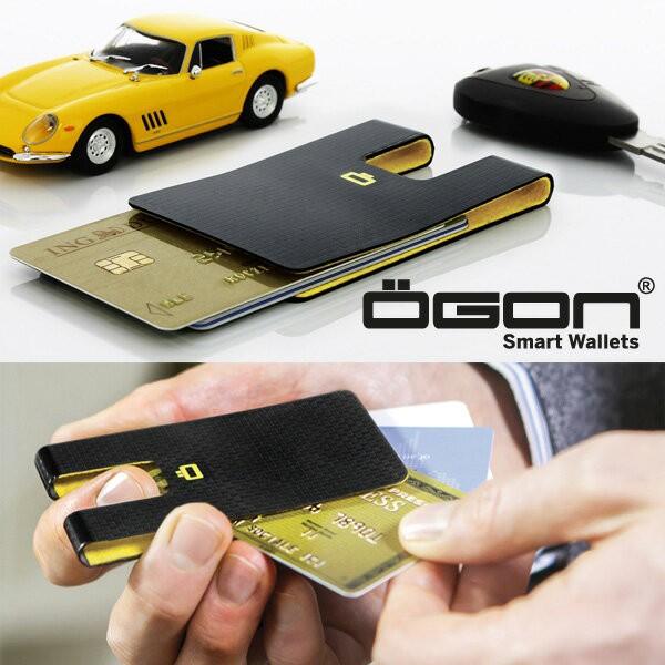 OGON 3CI カーボンテイストカードケース  [クレジ...