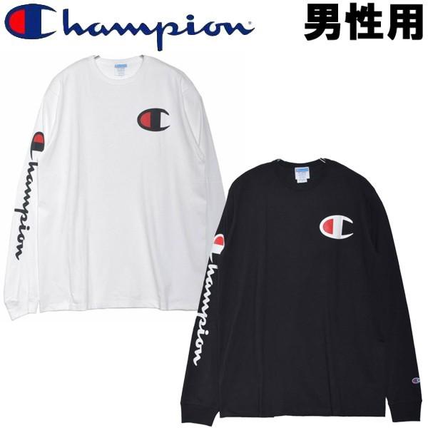 チャンピオン HERITAGE L/S TEE 男性用 CHAMPION ...