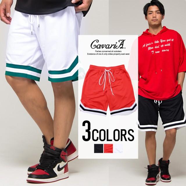 セール SALE ハーフパンツ メンズ CavariA キャバリア バスケットパンツ 即日発送 ショートパンツ ショーツ 半ズボン 短パン バスケット