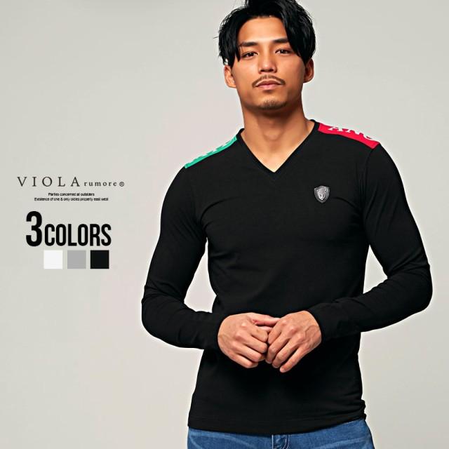 セール価格 SALE 30%OFF Tシャツ メンズ 長袖 VIO...