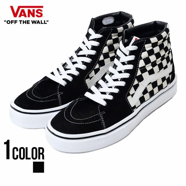 VANS バンズ Sk8-Hi Lite Blk Wht Chk/全1色 vans...