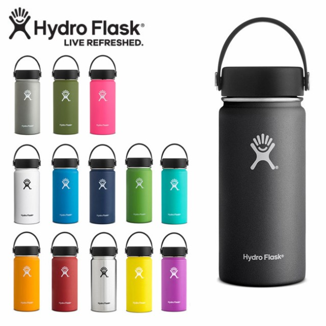 Hydro Flask ハイドロフラスク 16 oz Wide Mouth ...