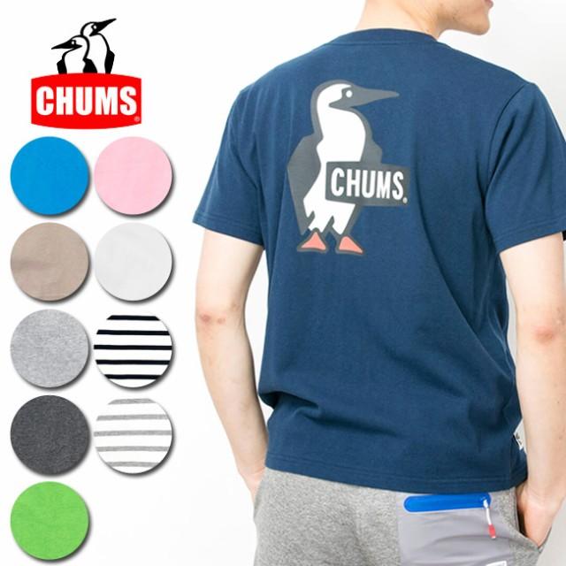 チャムス chums Tシャツ Booby Logo T-Shirt ブー...