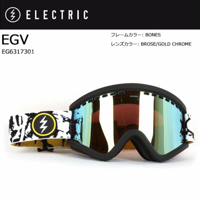 ELECTRIC エレクトリック EGV BONES BROSE/GOLD C...
