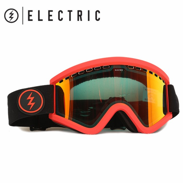 ELECTRIC エレクトリック EGV BLACK/RED GREY/RED...