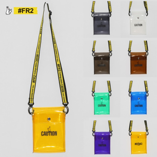 FR2 エフアールツー Clear Shoulder Bag クリアー...