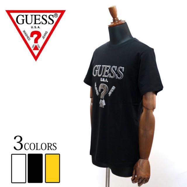 GUESS ゲス 発泡プリント 半袖 Tシャツ mi2k9407 ...