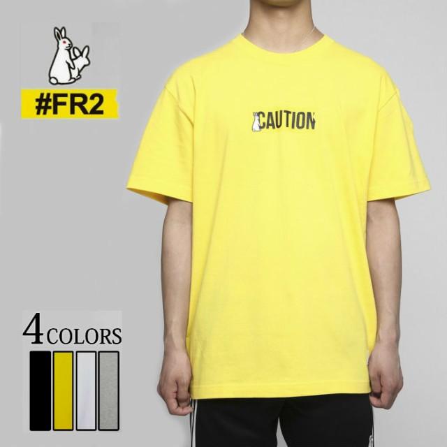 """FR2 エフアールツー """"CAUTION""""T-shirt tシャツ ..."""