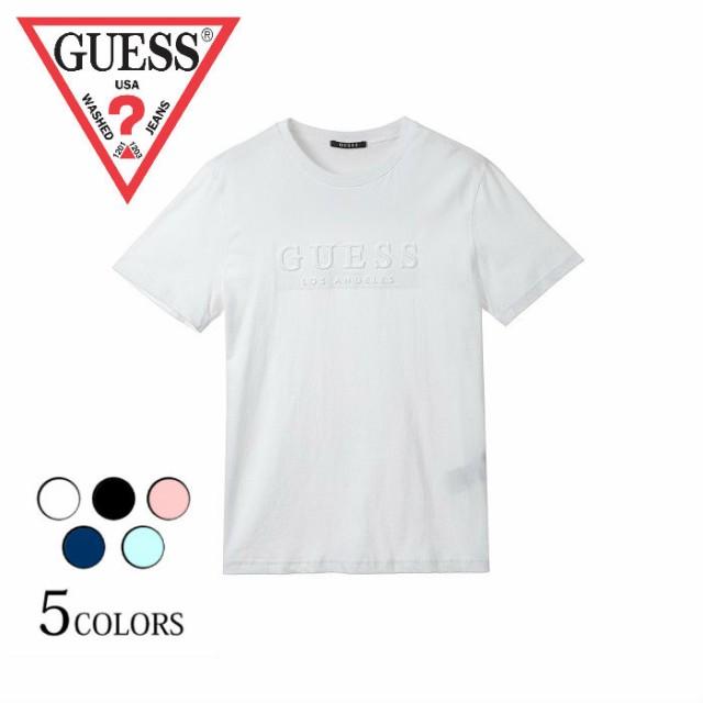 GUESS【ゲス】エンボスロゴTシャツ MI2K8432 メン...