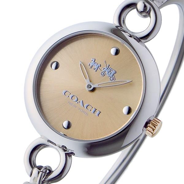 コーチ COACH クオーツ 腕時計ハングタグローズゴ...
