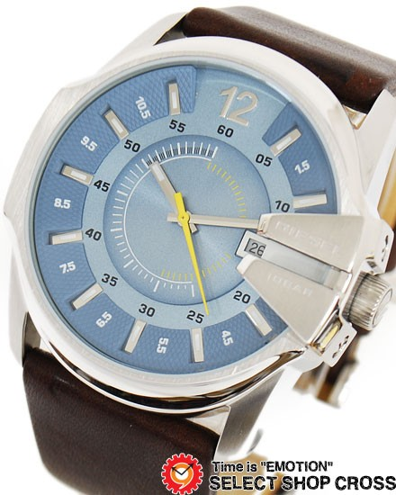 DIESEL ディーゼル メンズ 腕時計 アナログ レザ...