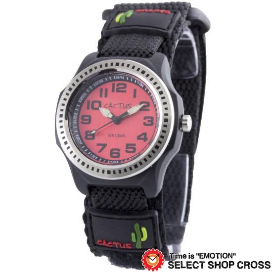 カクタス CACTUS キッズ 腕時計 10気圧防水 ベル...