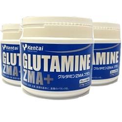グルタミンZMA(ジーマ)プラス 210g x 3本(...