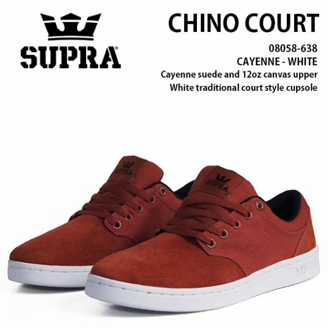 【2017HOLIDAY(4Q)】SUPRA(スープラ) CHINO COURT...