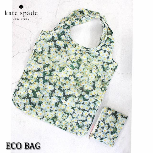 ケイトスペード KATE SPADE バッグ エコバッグ 折りたたみ コンパクト レディース 花柄 フラワー レジバッグ ショッピングトート かわい