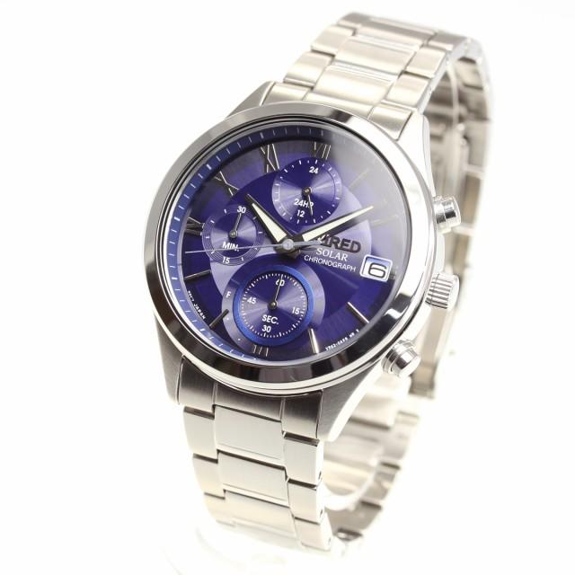 ワイアード WIRED ソーラー 腕時計 メンズ AGAD09...
