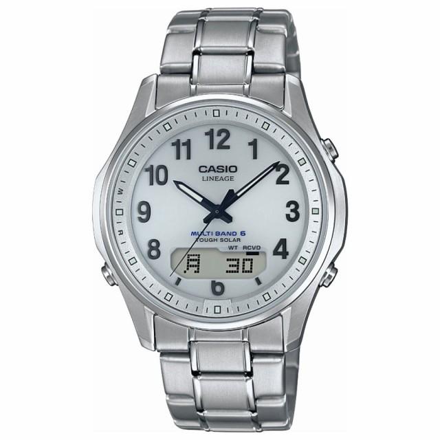 カシオ リニエージ 電波 ソーラー チタン 腕時計 ...