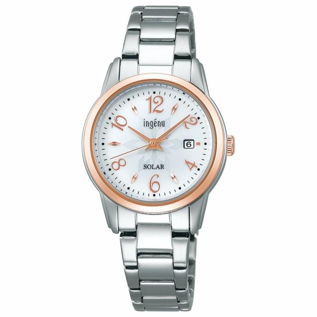 セイコー アルバ アンジェーヌ SEIKO ALBA ingenu ソーラー 腕時計 レディース AHJD416