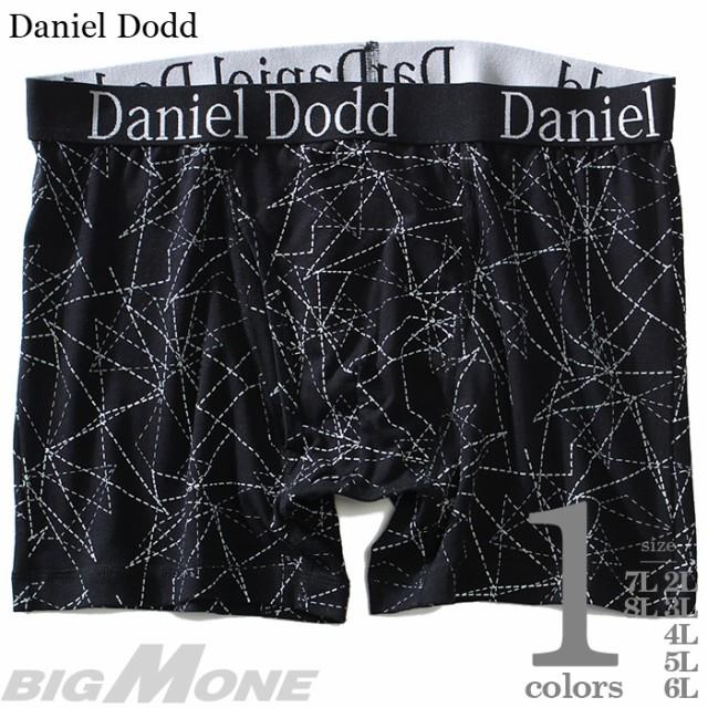 大きいサイズ メンズ DANIEL DODD 前開き 総柄 ボ...