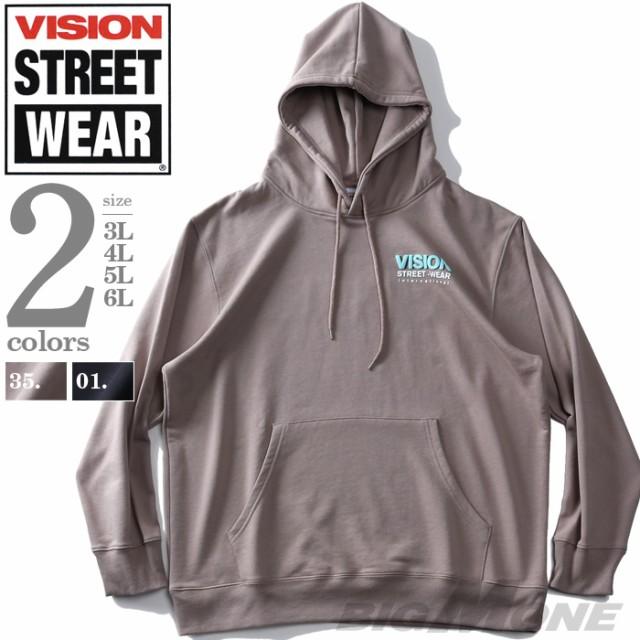 大きいサイズ メンズ VISION STREET WEAR カラー...