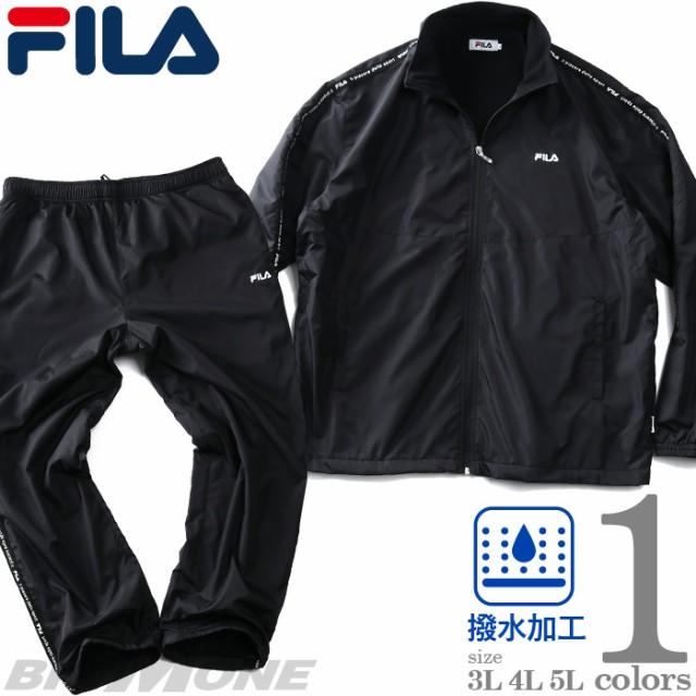 大きいサイズ メンズ FILA フィラ 裏フリース ウ...